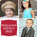 Click here to visit Peek-a-Boo Pattern Shop.