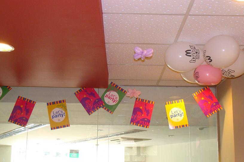 Cherry Berry K S 7th Birthday Party At Mcdonalds