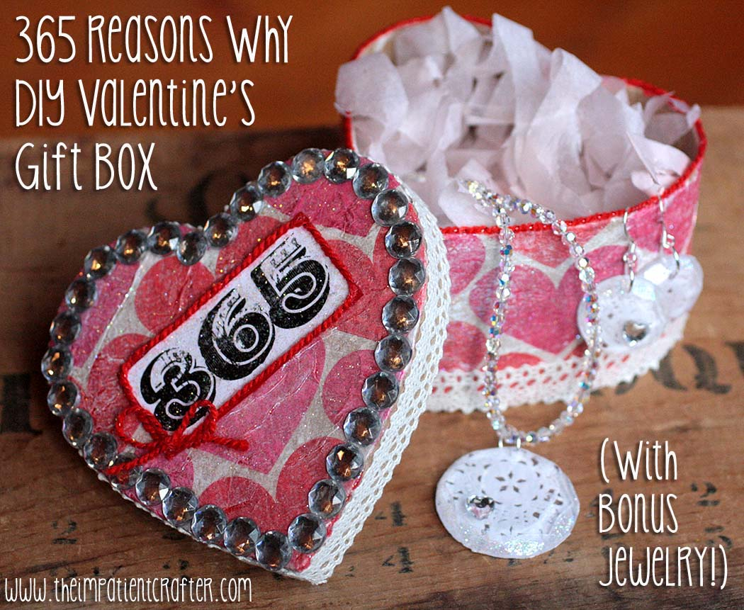 Ilovetocreate Blog Diy Valentine S Gift Box