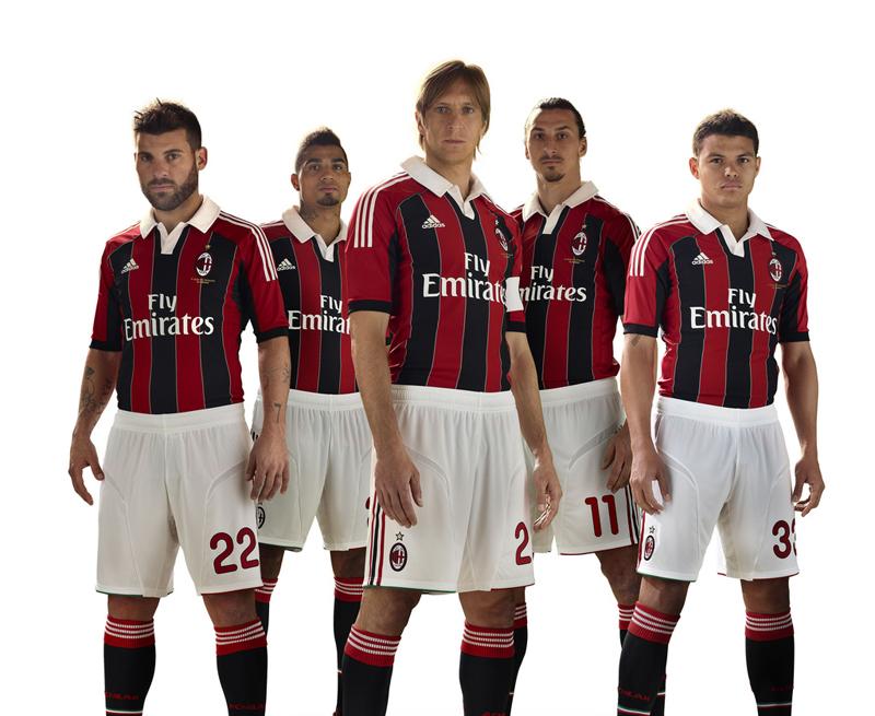 Uniforme 2012/2013 Ac Milan