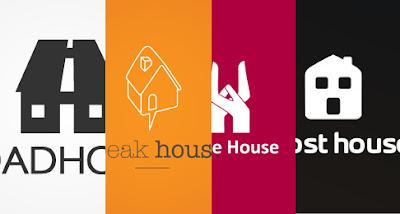 logos inspirados en casas