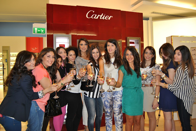 Trinity Cartier Eyewear Catania blogger party