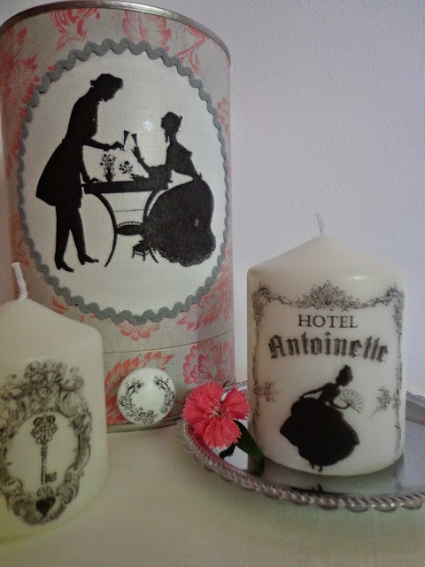 Entre anhelos y caprichos caja y velas con transferencia - Transferir fotos a velas ...