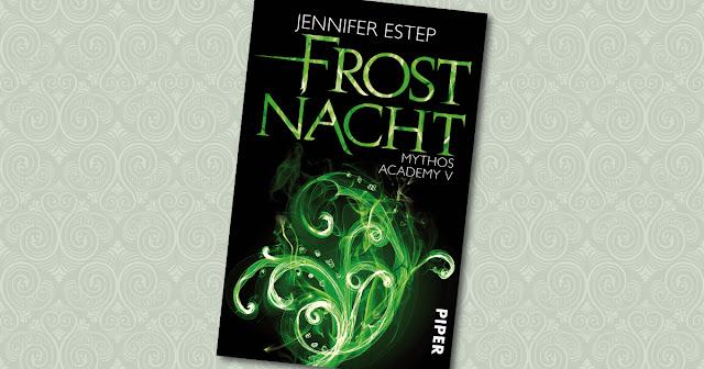 Frostnacht Jennifer Estep Cover