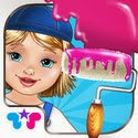 Baby Room Makeover - Extreme Edition! App iTunes App Icon Logo By Kids Fun Club by TabTale - FreeApps.ws