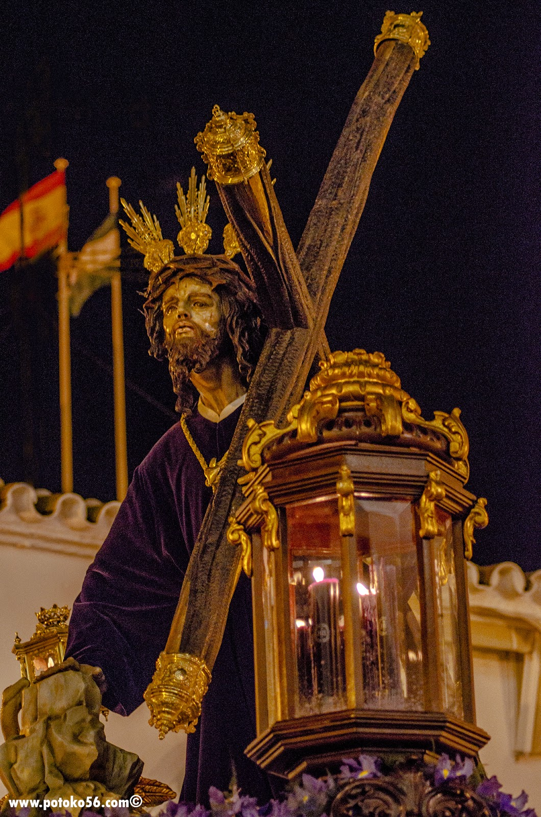 Ntro. Padre Jesús de la Salud en sus Tres Caídas Miercoles Santo Rota