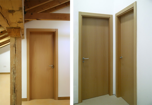 Puertas Para Baño Madera:Todos los detalles constructivos para dichas puertas de madera fueron