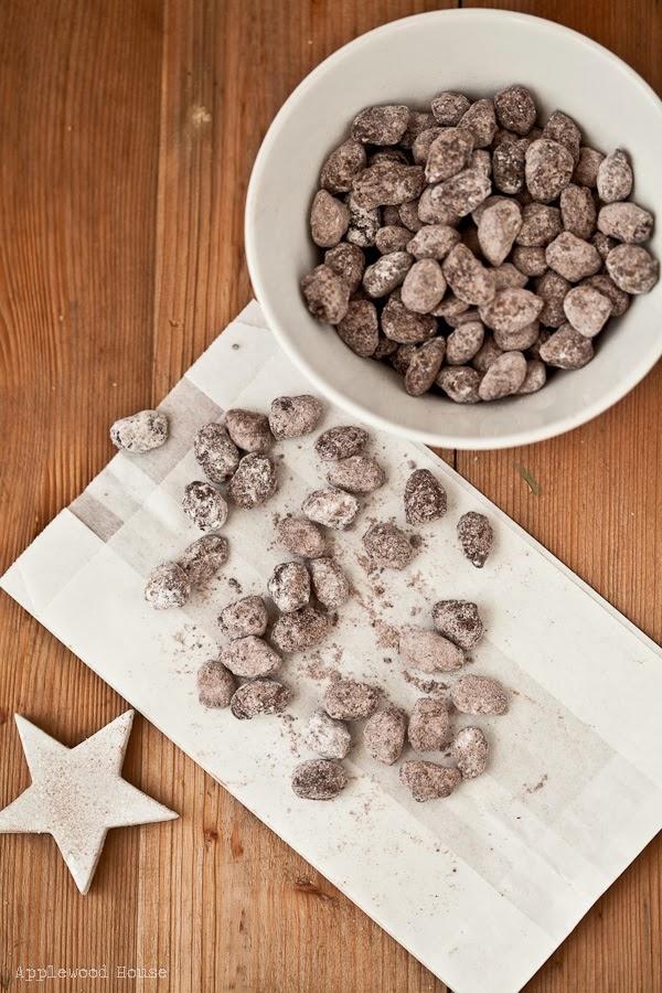 Weihnachtsmandeln selbermachen Geschenk Rezept