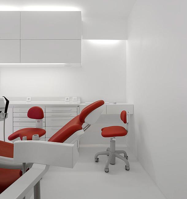Marzua vidrio reciclado para una cl nica dental por - Muebles para clinicas dentales ...