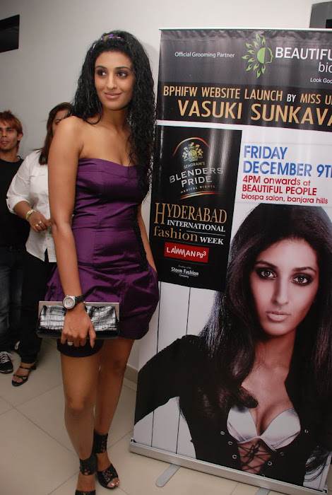 vasuki sunkavalli @ hifw launch photo gallery