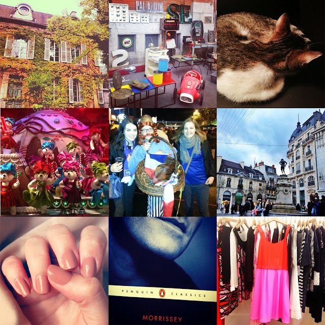 Instagram fashion blogger in Paris
