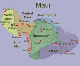 Maui Map Pictures
