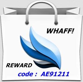cara mudah mendapatkan uang melalui whaff reward