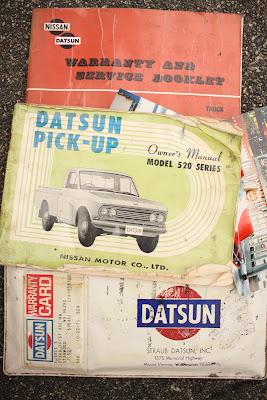 1968 Datsun Owners Manuals.
