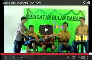 Video Musikalisasi Puisi
