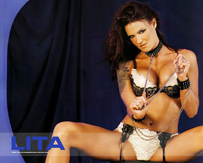WWE Superstar Divas Lita HD wallpapers
