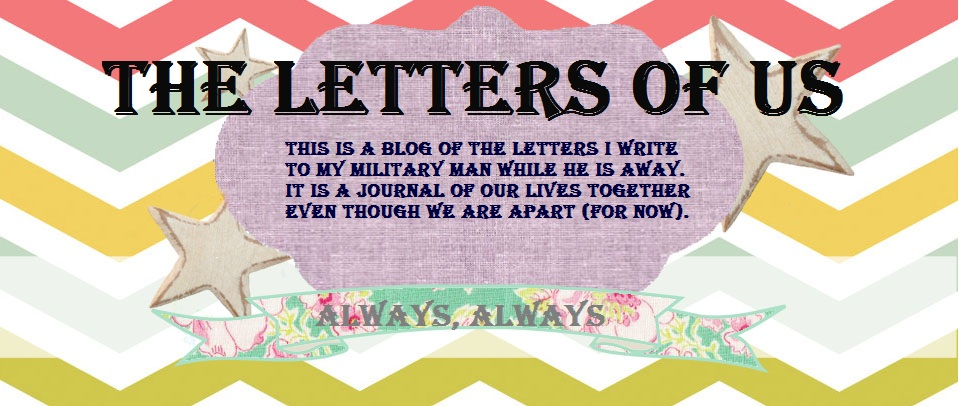 the letters of us