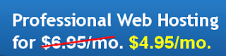 Blue Host Professional Web Hosting at $4.95/mo
