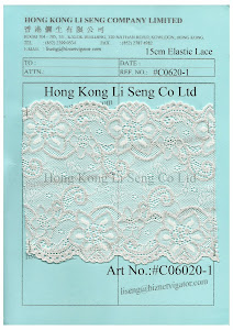 Elastic Lace Manufacturer - Hong Kong Li Seng Co Ltd