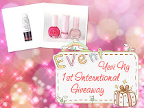 Yeving blog 1st Giveaway!