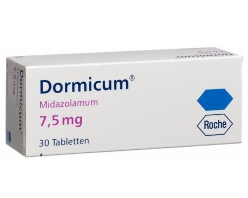 Dormicum 7 5 mg cena