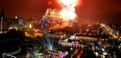 Celebración del Hogmanay, Edimburgo