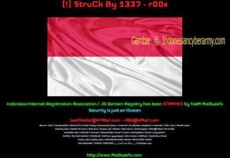 Website Pengelola Domain Indonesia (PANDI) Juga Dijebol TeaM MaDLeeTs