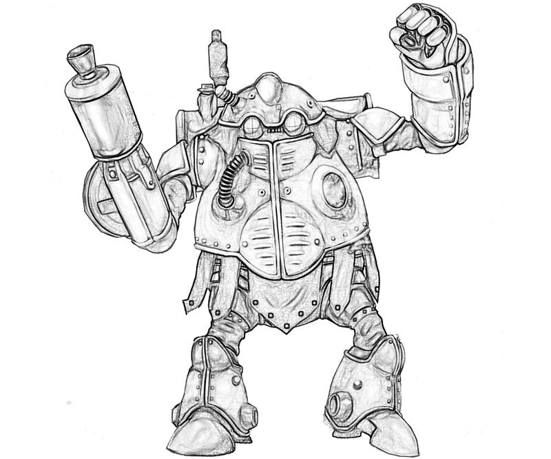 robo-weapon-coloring-pages