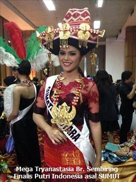 Mega Tryanastasia Beru Sembiring: Putri Sumatera Utara 2013, Grand Finalis Putri Indonesia 2014, Putri Persahabatan pada PPI (Pemilihan Putri Indonesia) 2014