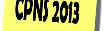Pengumuman Hasil CPNS Honorer K2 Dan Formasi Umum 2013