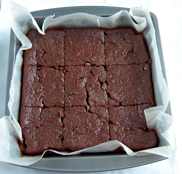 Jyoti's Pages: Egg less Chocolate Fudge Brownies
