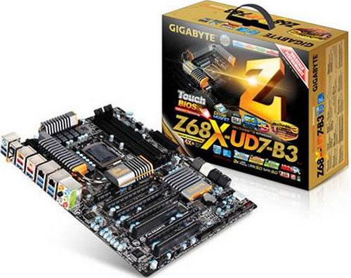 Системная плата Gigabyte GA-Z68X-UD7-B3
