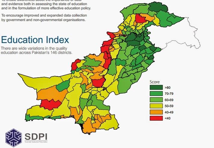 Education Punjab Tops In Literacy Rate Pakistan Muslim League