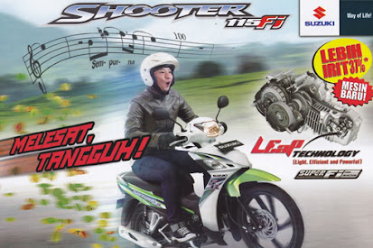 Suzuki Shooter 115 Fi R | Spesifikasi Lengkap dan Harga