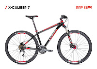 X-Calibur 7 - Black/Red