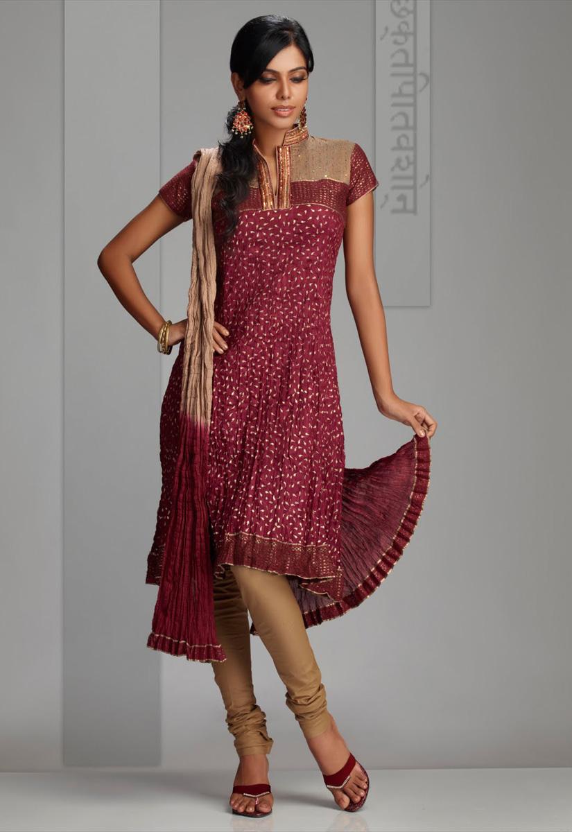 Stand Collar Neck Designs For Salwar Kameez : Salwar design designs
