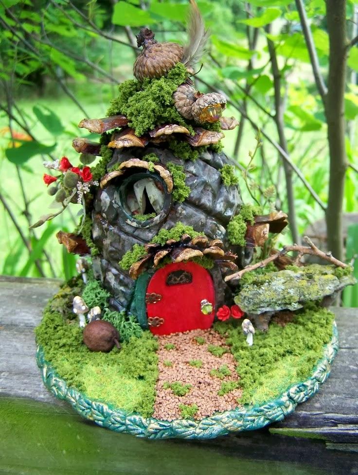 manualidades casita duendes para jardin On jardin hadas y duendes