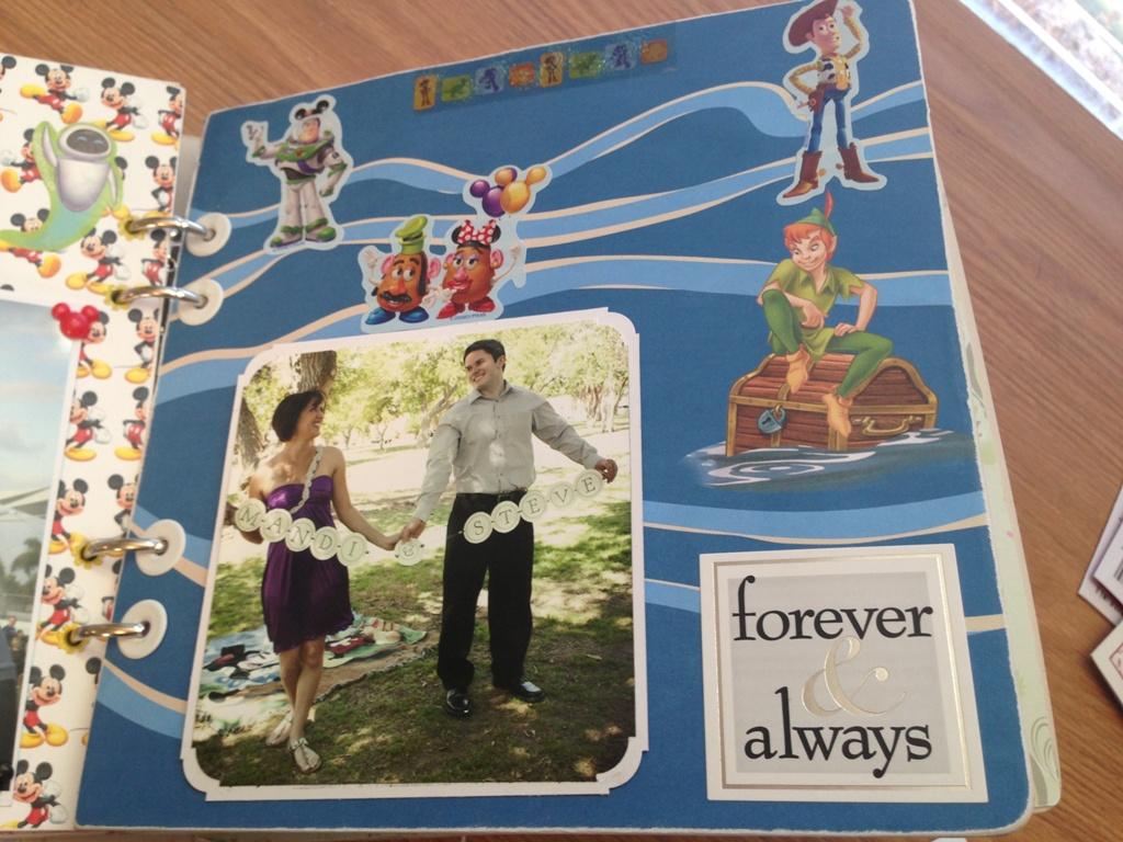 How to make scrapbook diy - Amanda S Diy Wedding Scrapbook Guestbook
