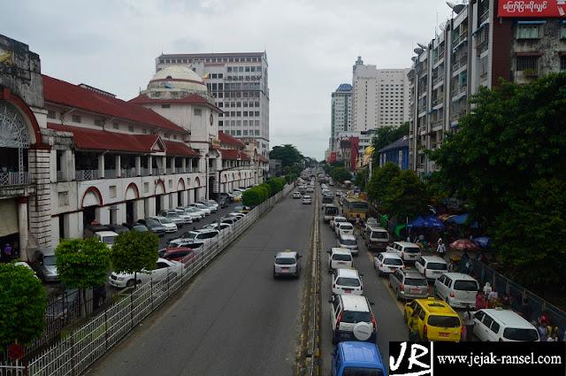 """Bogyoke Aung San Market Street"""