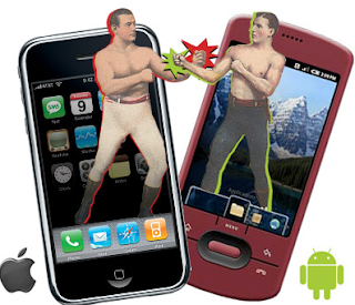 iPhone (i.e. Apple) and Android (i.e. Google), aren't fighting fair anymore in the smartphone arena.