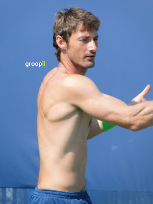Juan Carlos Ferrero Shirtless at Cincinnati Open 2011