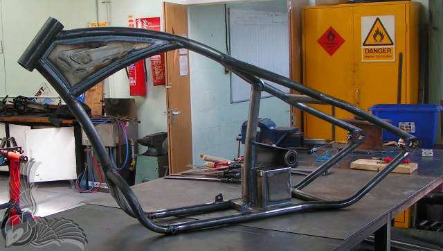 Techtips Building Your Custom Motorcycle Frame Part 3