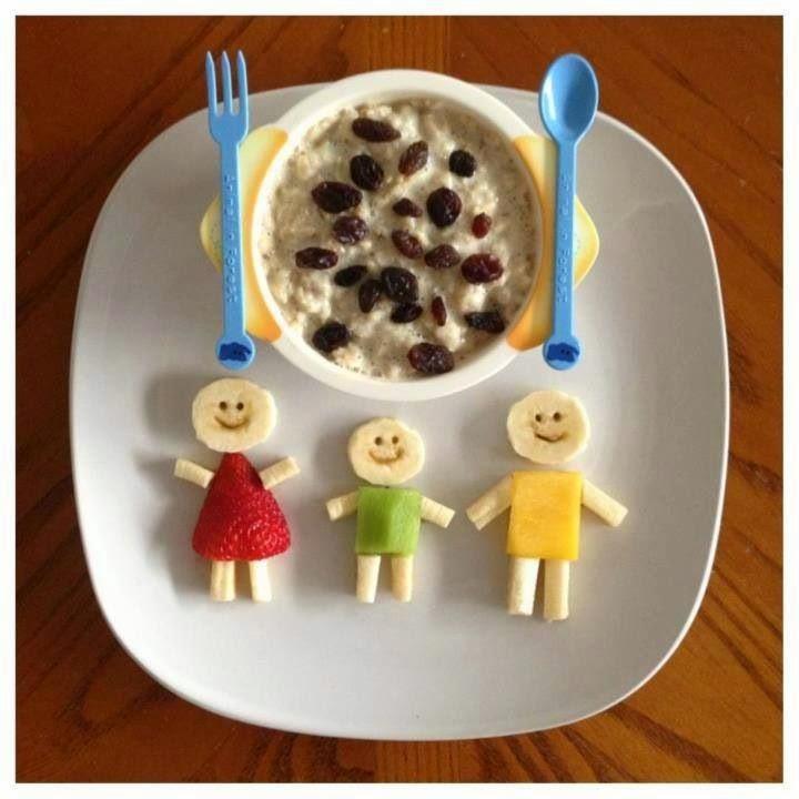60 Pratos divertidos para crianças com banana