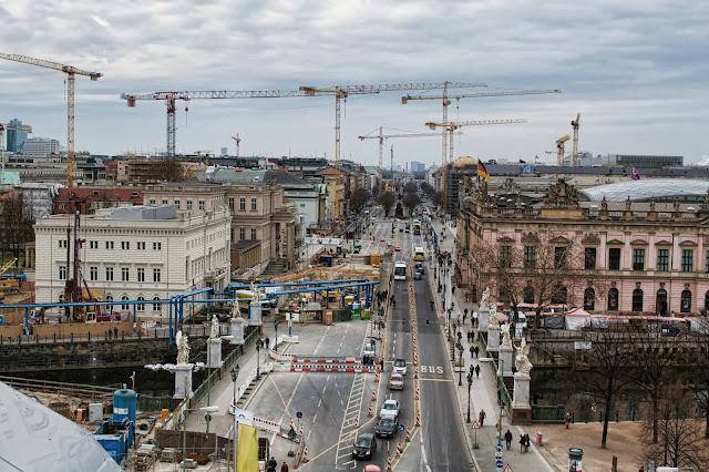 Baustelle Unter den Linden, 10117 Berlin, 22.03.2014
