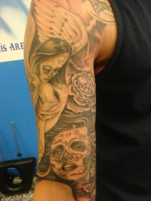 tattoo croos artist ink and sleeve vs angel google verification Bali
