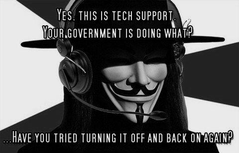 government - turn it off and back on again