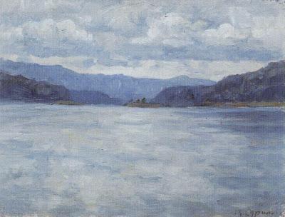 Enisej Reka by Surkov