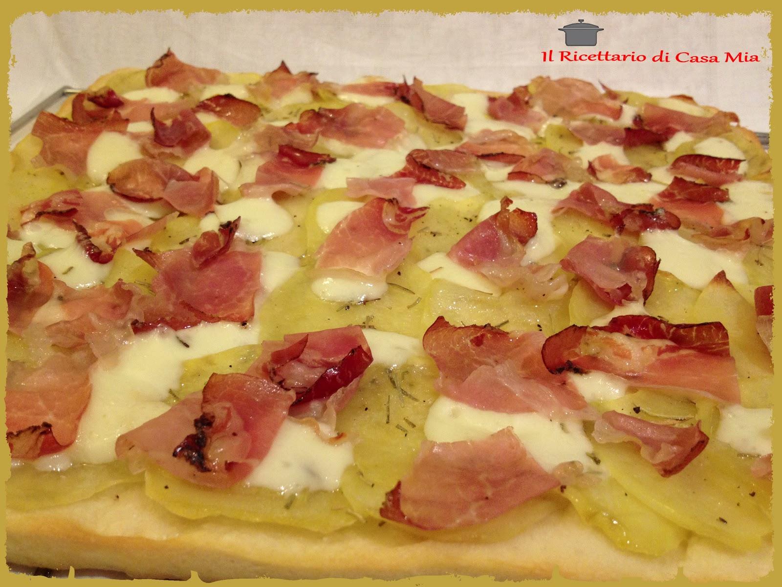 pizza con patate cover Pizza con patate e rosmarino