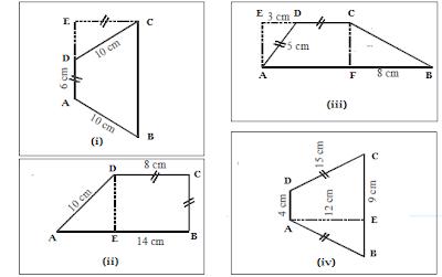 contoh soal dan pembahasan keliling dan luas trapesium