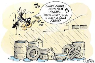 Cuidado com as chuvas e a dengue!